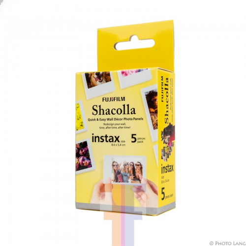 Fujifilm Instax Chacolla 5 pak Wall Decor Mini Film