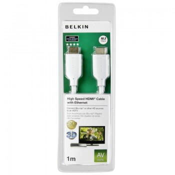 Belkin High Speed HDMI Cable with Ethernet 1M